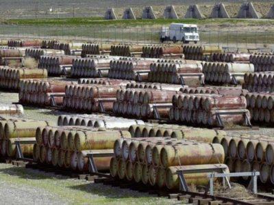 Arsenal de armas químicas de EE.UU. abandonadas en la isla panameña de San José, situada en el Golfo de Panamá, en el océano Pacífico. Foto: Hispan TV, 25 de abril de 2018.