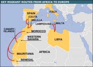 A morte oculta faz parte do quotidiano no calvário migratório em direcção ao norte de África