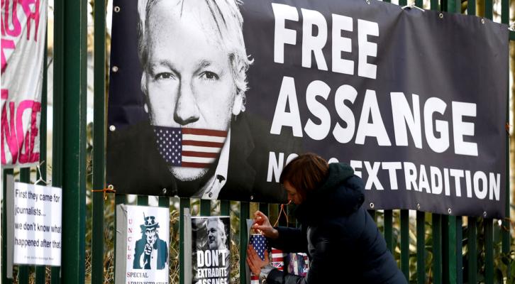 El compañero periodista Assange aún puede ser extraditado a la dictadura estadounidense